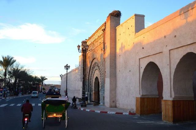 Marrakech - Mauer
