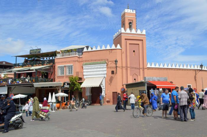 Marrakech - Gauklerplatz